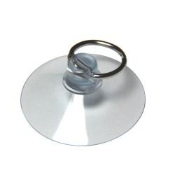 Ventouse 50mm avec anneau métal ouvrable 24mm