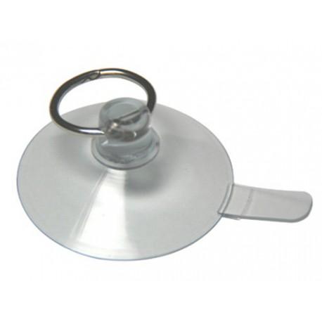 Ventouse 50mm avec anneau ouvrable 24mm et languette de détachement