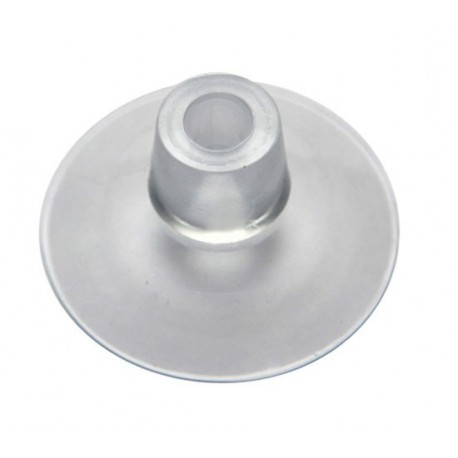Ventouse 30mm avec trou vertical de 4mm