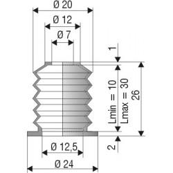 Soufflet F1084 en NBR