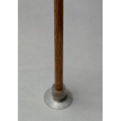 Tige en bois naturel 5mm diamètre -25cm long pour ventouses à trou