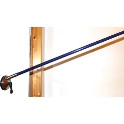 Tige bois 18mm bleu marine longueur 1,30 mètre