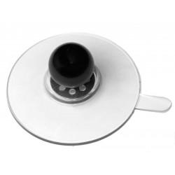 ventouse 75 mm avec languette et boule 25 mm