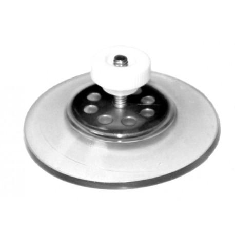 ventouse 50 mm avec ecrou blanc