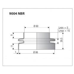 Soufflet réf 9004 NBR