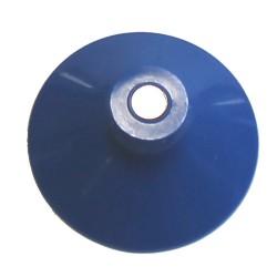Ventouse bleue 38 mm avec aimant 5 mm