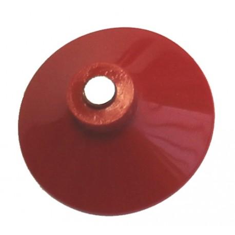 Ventouse rouge 38 mm avec aimant 5 mm