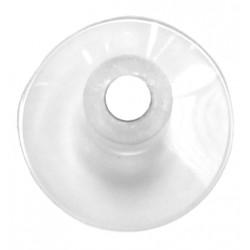 Ventouse transparente 38 mm avec aimant 8 mm