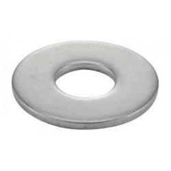 RONDELLE PLATE LARGE INOX 10x27 M10