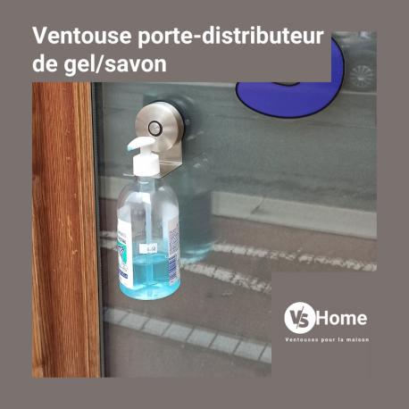 Ventouse Support de distributeur de savon petit diamètre VS Home