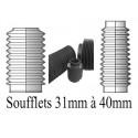 Soufflets D 31mm à D 40mm